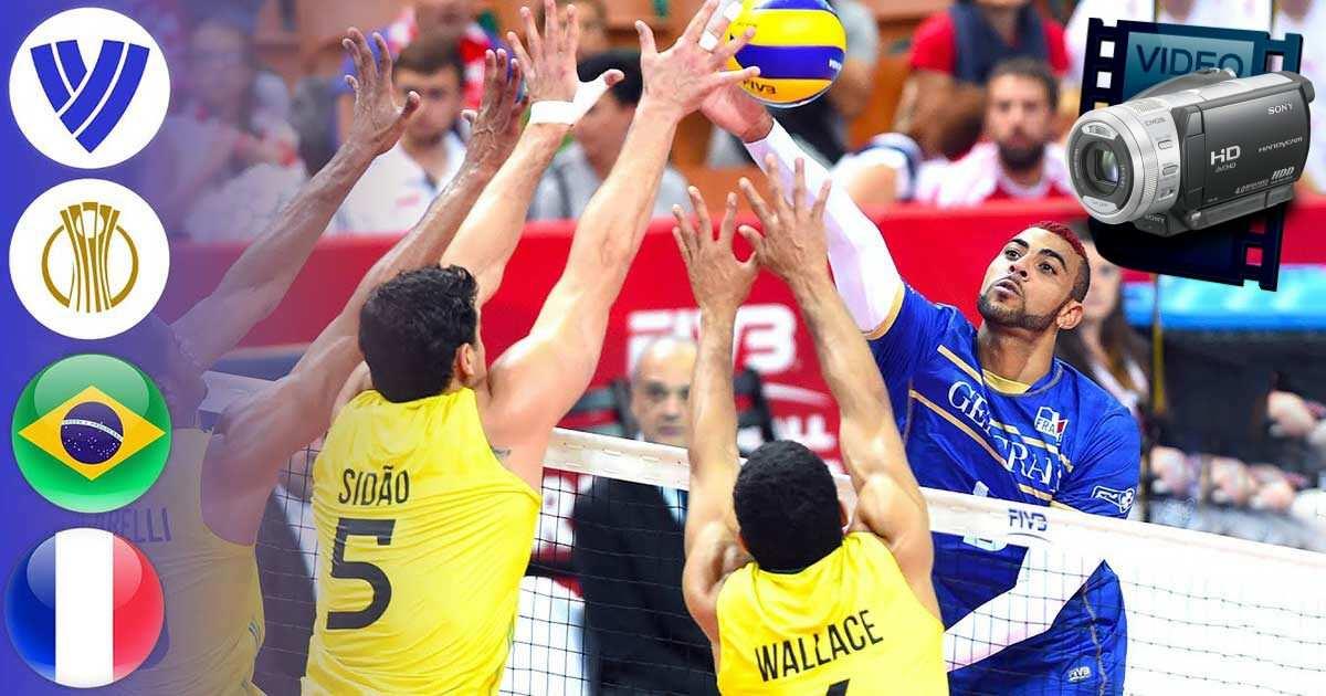 pasaules čempionāts 2014 volejbols brazīlija francija