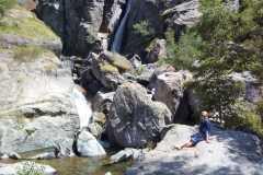 Pa Gordolasque ieleju uz ezeru Fous Francijas Piejūras Alpos 16-07-2017