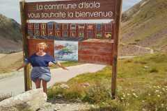 Uz pāreju Lombarde Francijas-Itālijas Alpos 19-07-2017