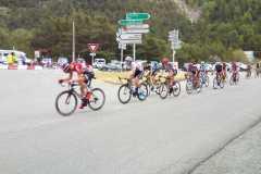Pārejas Maddalena-Vars un Tour de France Itālijas-Francijas Alpos 20-07-2017