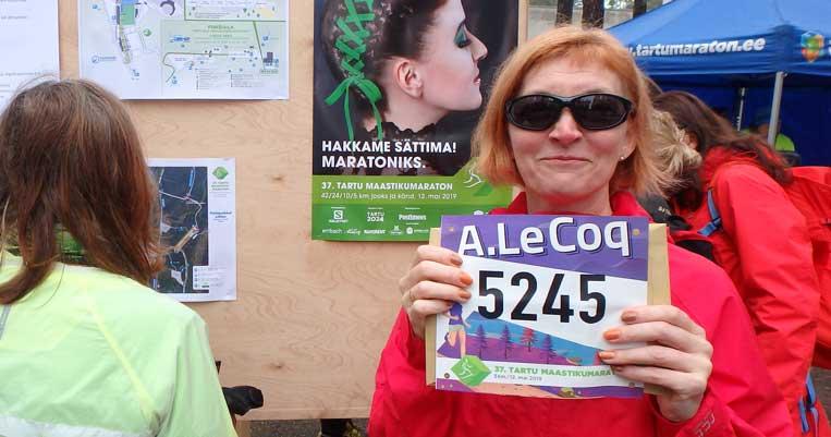 ilona tropa tartu forest marathon 2019 taku skriešana